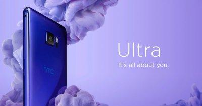 HTC lansează o nouă linie de smartphone-uri cu AI și ecran secundar, dar fără port pentru căști. Ce știm despre U Ultra și U Play?