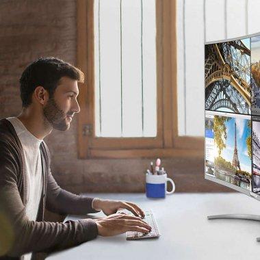 Philips lansează cel mai mare monitor 4K curbat (40 de inci) la un preț de circa 3.300 de lei