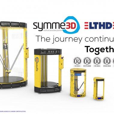 Joint venture românesc pentru piața globală de 3D printing - Symme3D se unește cu LTHD Corporation din Timișoara