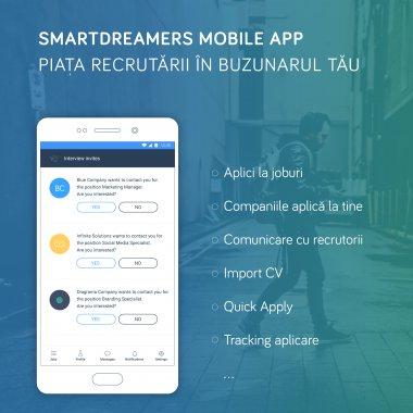 Smart Dreamers din Târgu Mureș intră pe teritoriul LinkedIn cu noua aplicație mobilă
