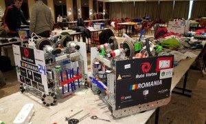 Elevii români, pe primul loc în competiția internațională de robotică de la Soci