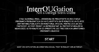 InterrOUGation. Cel mai recent și mai complex joc online cu pesediști