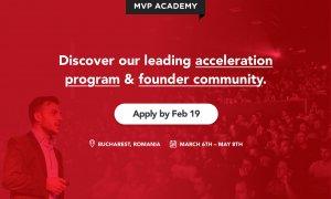 Ai un startup și vrei să-l crești? Mai ai câteva zile pentru a aplica pentru programul de accelerare MVP Academy