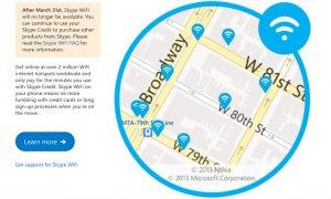 Aplicația Skype WiFi va fi închisă de Microsoft