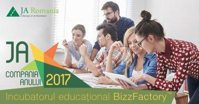 Peste 150 de startup-uri, în incubatorul educațional JA BizzFactory