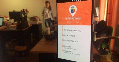 Clujenii au aplicație de la primărie ca să facă sesizări oficiale