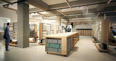 Prima bibliotecă de materiale pentru arhitecți și designeri