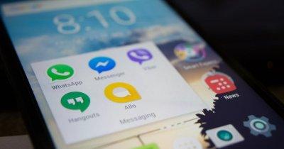 Primele patru din cele mai descărcate aplicații sunt ale Facebook