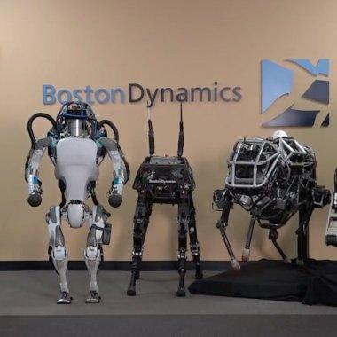 Japonezii cumpără roboții înfricoșători de la Alphabet (Google)