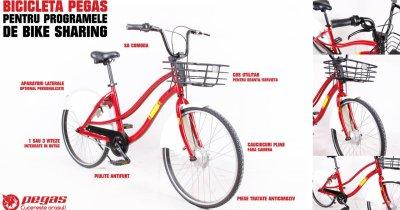 Pegas face serviciu de smart bike-sharing: unde va fi disponibil întâi