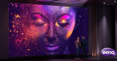 Acest proiector extrem de scump transformă orice casă într-un cinema