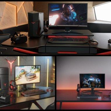 Gamescom: Lenovo a lansat trei desktopuri de gaming și un monitor