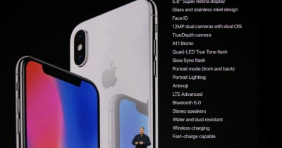 iPhone X, iPhone 8, iPhone 8 Plus și Apple Watch - toate detaliile