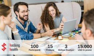 Dacă ai un startup de health, înscrie-te la Hacking Health Romania