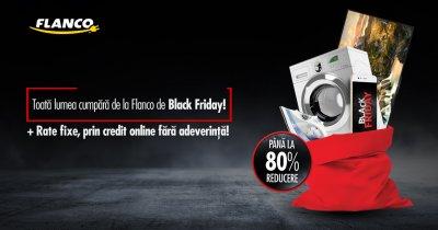 Black Friday 2017 la Flanco - ce produse va oferi retailerul