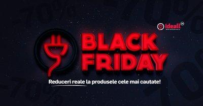 Black Friday la Ideall.ro: electrocasnice ieftine