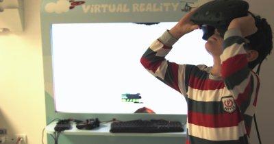Cum îi ajută realitatea virtuală pe 100 de copii cu boli incurabile