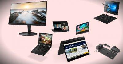 Gama Lenovo ThinkPad 2018: laptopuri, monitoare, stații de andocare