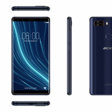 Archos lansează telefonul premium cu 8 GB de RAM și 4 camere foto