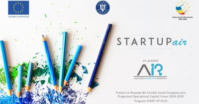 StartUp AIR – fonduri de 33.000 de euro la România Start Up Plus