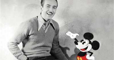 Walt Disney, antreprenor de succes:7 citate care te vor motiva