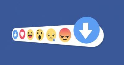 """Mai aproape de dislike: Facebook adaugă butonul de """"downvote"""""""