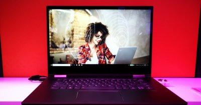 """Lenovo Yoga 730 e un laptop care vine cu două """"secretare"""" la pachet"""