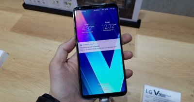 Hands On LG V30S - inteligența artificială din camera foto