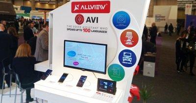 Allview AVI îți va putea controla casa smart și va face cumpărături