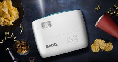 Benq TK800 e un proiector 4K pentru cei pasionați de fotbal
