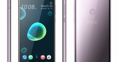 HTC Desire 12 și Desire 12+ oferă design rafinat și ecrane mari
