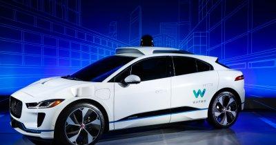 Jaguar fără șofer cu tehnologie de la Google