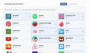 """Facebook te lasă să deconectezi """"la grămadă"""" aplicațiile terțe"""