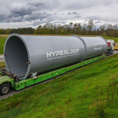 HyperloopTT a început construcția tunelului pentru trenul supersonic