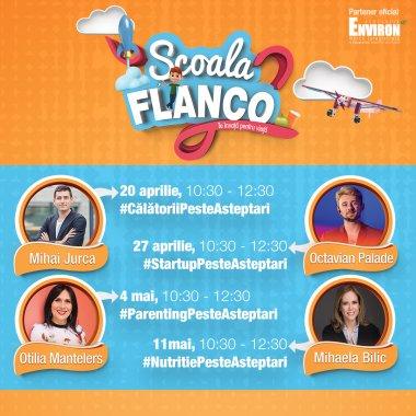 Vino la Școala Flanco să vorbim despre antreprenoriat și startupuri
