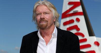 Branson investește 600 mil. de dolari în firmele din Europa și SUA