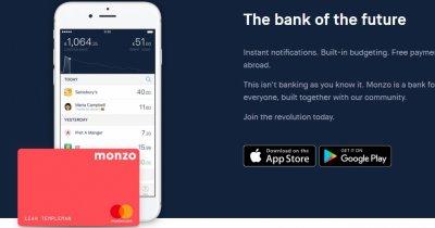 Monzo: cum schimbă transferurile între prieteni ecosistemul bancar