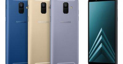 Noile smartphone-uri Galaxy A6 și A6+ sunt disponibile pe piața locală