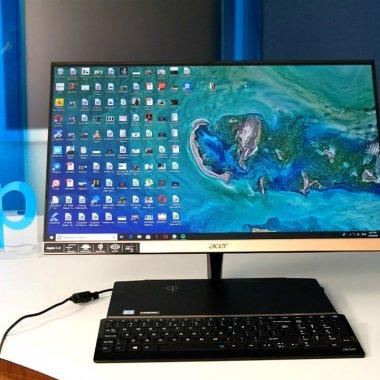 Review Acer Aspire S24: all-in-one cu design de excepție