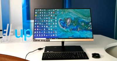 Review Acer Aspire S24: all-in-one cu design de excepție