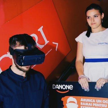 """Drumul Iaurtului: o experiență VR """"la raft"""" marca Danone"""