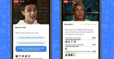 Facebook lansează platformă de jocuri trivia live, pe bani