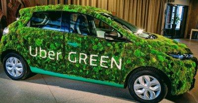 Uber își plătește în plus șoferii ca să devină eco