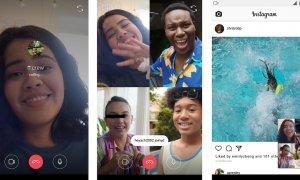 Instagram permite apelurile video de grup direct din aplicație