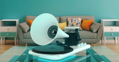 Kozmophone, gadgetul futurist făcut de români, trezește nostalgii