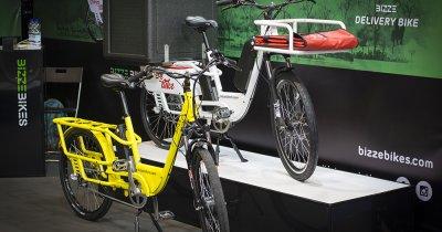 Românii de la BizzeBikes lansează biciclete electrice pentru livrări
