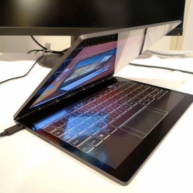Lenovo Yoga Book C930 e un laptop inovator pentru obsedații de notițe