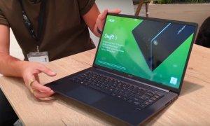 Acer Swift 5 - prima impresie despre cel mai ușor laptop de 15 inci