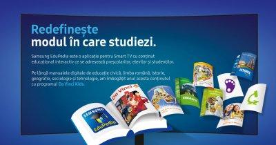 Samsung EduPedia: noi emisiuni interactive pentru copii în aplicație
