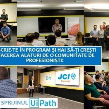 JCI București - program de mentorat pentru tineri antreprenori